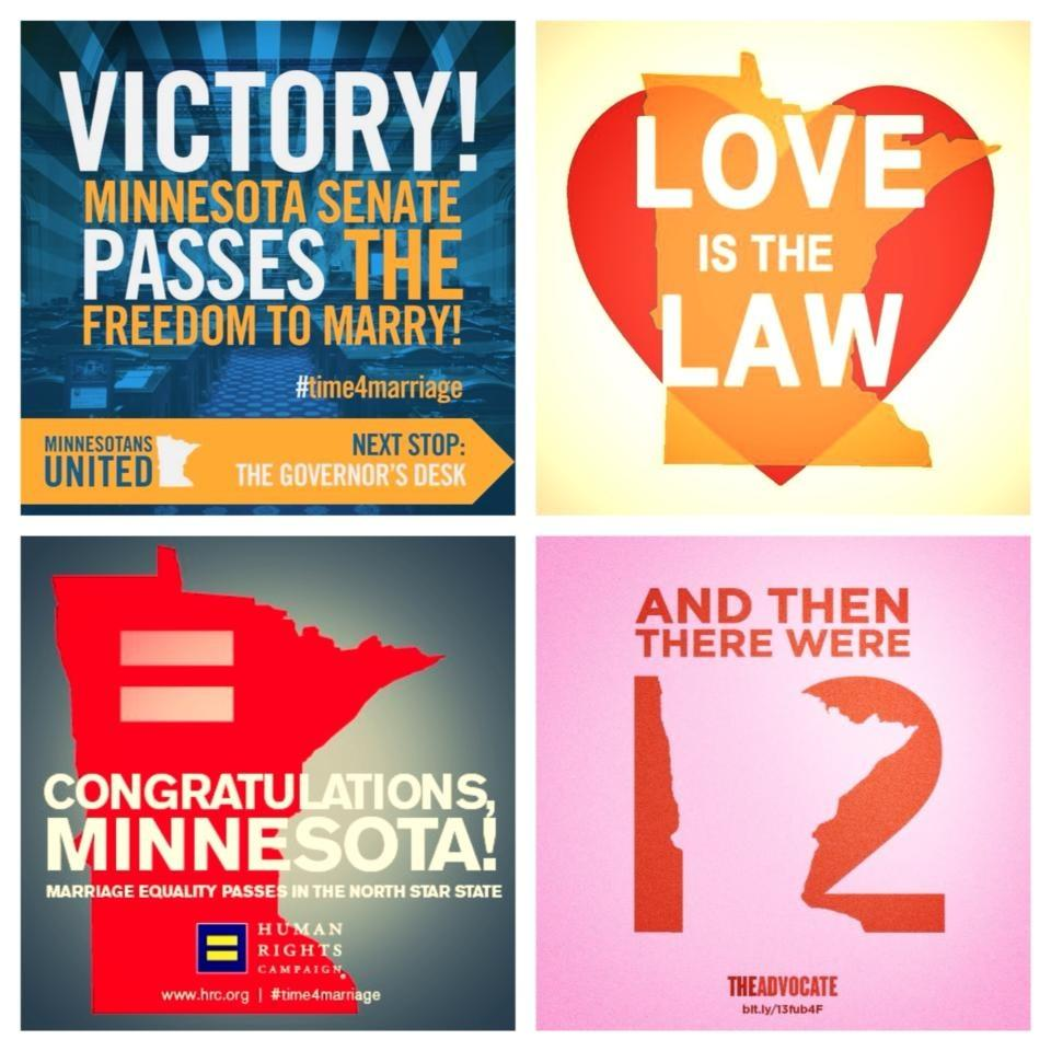 marriage equality in MN images