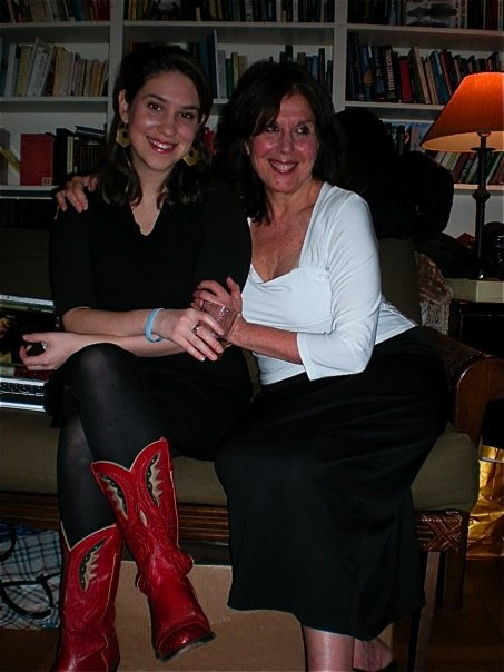 """Me and my mom and my mom's boots."" -- Katie"