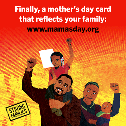 Finally, a mother's day card that reflects your family, www.mamasday.org