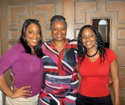 """Me, my mom (Yvette), and my sister Rebekah"" -- Zerlina"