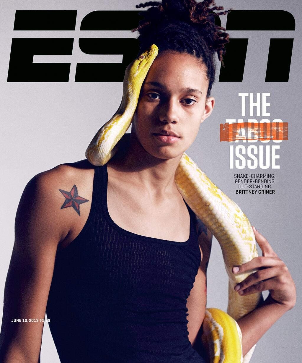 Brittney Griner on cover of ESPN