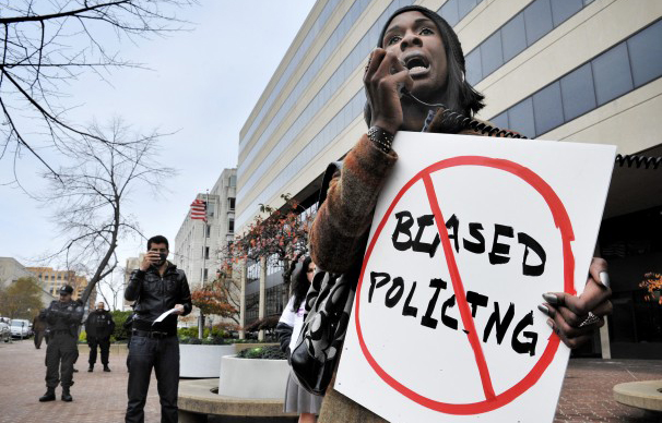 Xion Lopez at a protest on Nov 17, 2011 in Washington DC. (Bill O'Leary/Washington Post)