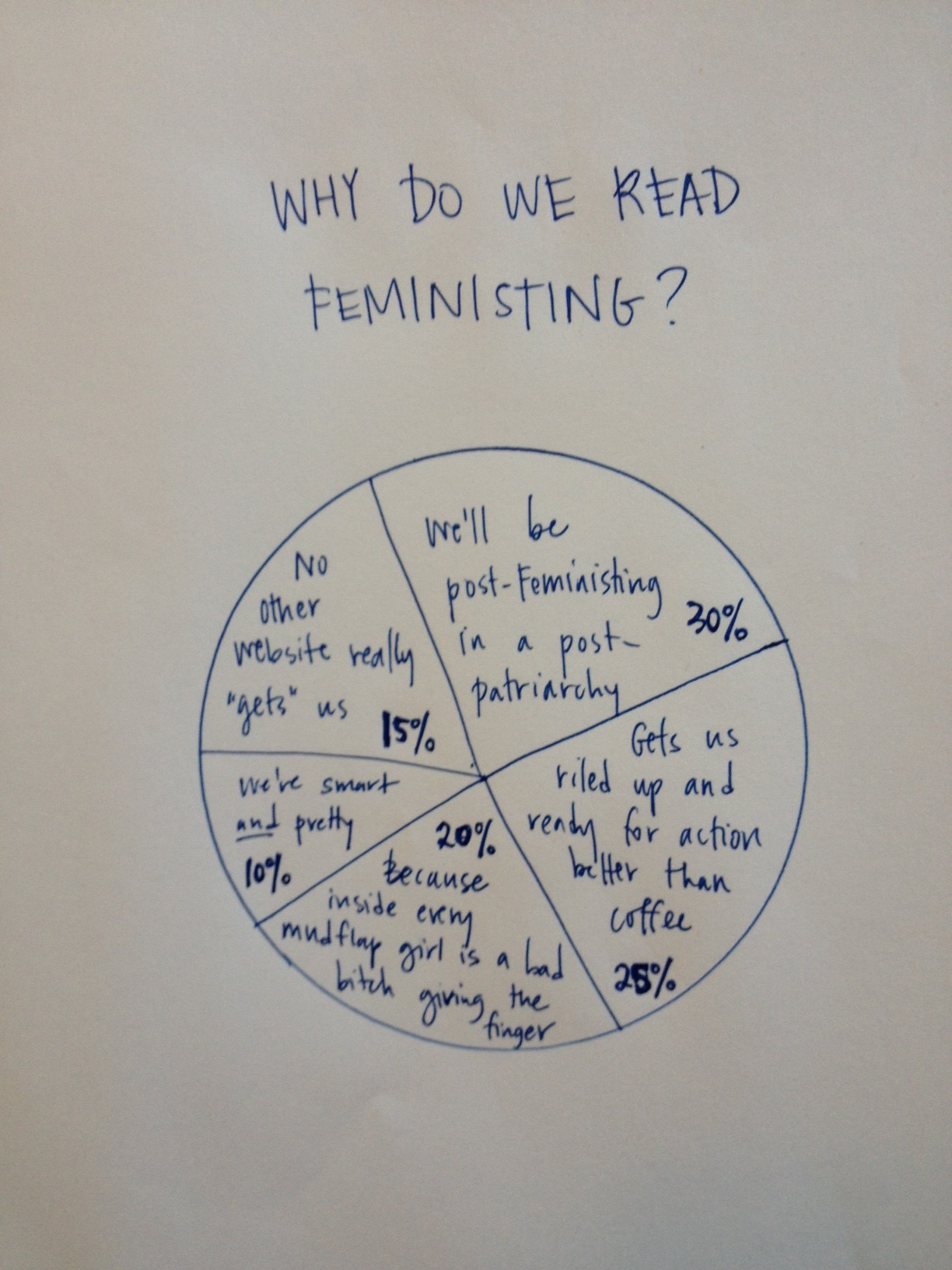 Why do we read Feminsiting?