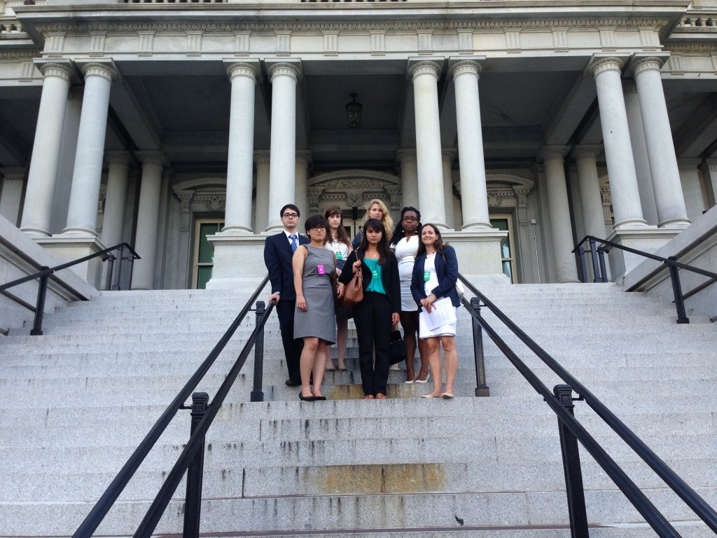 ED ACT NOW organizers after meeting with White House officials