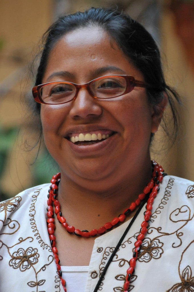 Lorena Cabnal, co-founder of Association of Indigenous Women of Santa María Xalapán