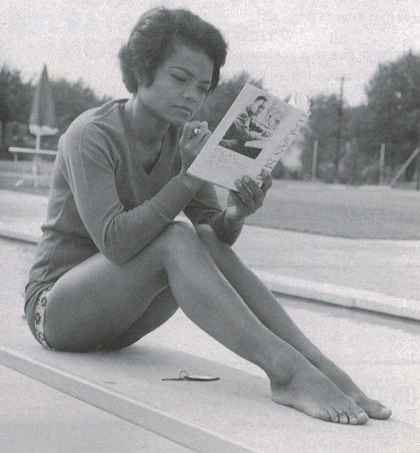 Eartha Kitt reading