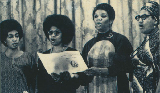 Audre Lorde, Lucille Clifton, Alice Walker and June Jordan