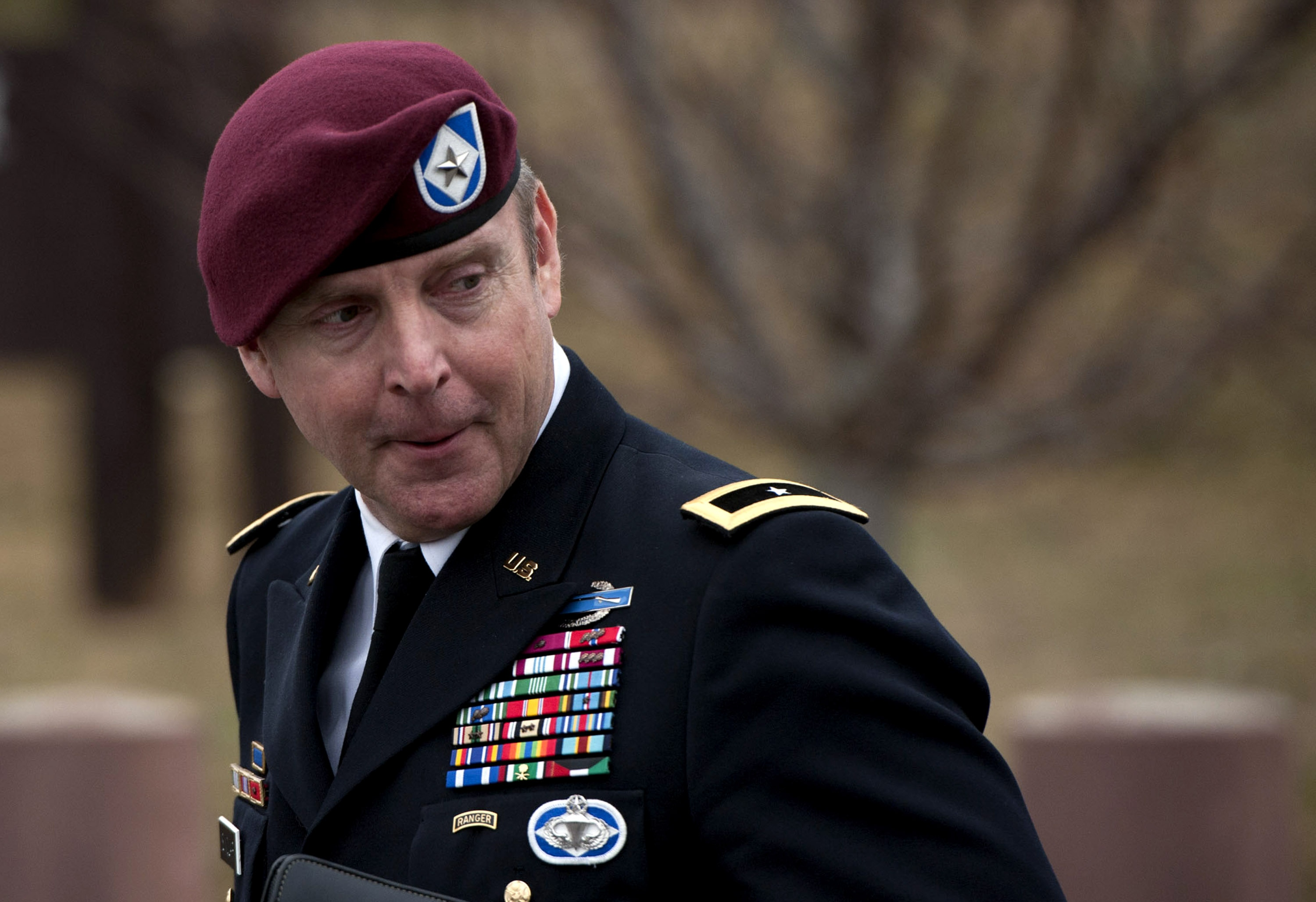 Brig. Gen. Jeffrey Sinclair (Photo credit: Davis Turner/Getty Images)
