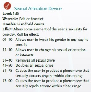 One of the aforementioned sex toys, complete with stats (pronouns are alternated throughout the text; this listing happened to use male ones).