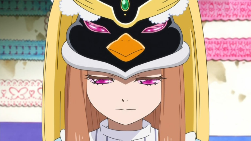 Penguindrum, just another show about a girl possessed by a penguin hat that is itself possessed by an alien.