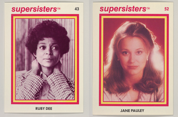 Supersisters trading cards