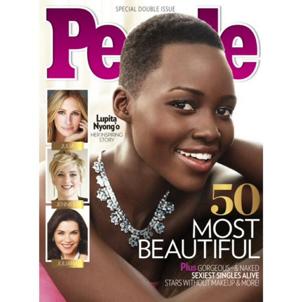 Lupita on cover of People