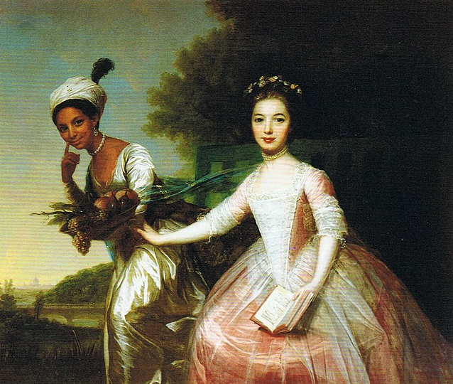 Ladies Dido Elizabeth Belle and Elizabeth Murray