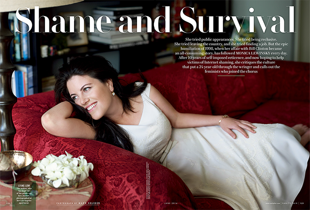 Monica Lewinsky in Vanity Fair