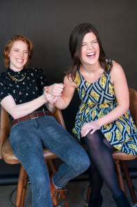 Dannielle Owens-Reid and Kristin Russo of 'Everyone is Gay'