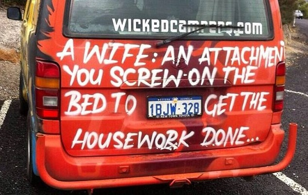 a wife is an attatchment
