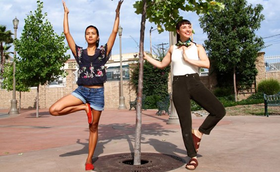 Peope's Yoga founders strike a pose in LA.