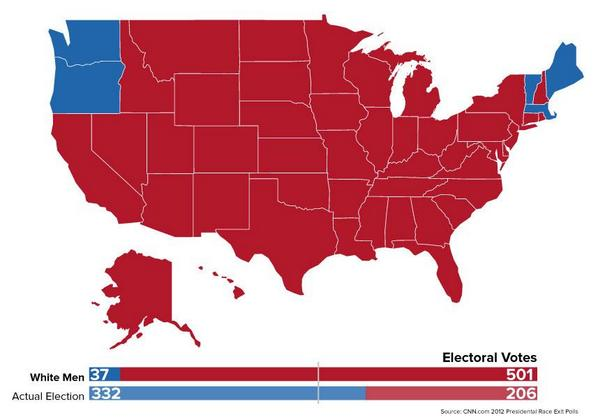 Vote Today Because This Is What The Electoral Map Would Have - Us election results map 2014