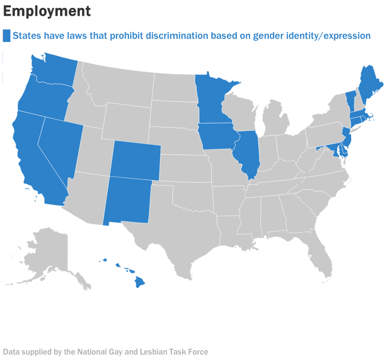 Want to know what transgender rights look like in the US ...